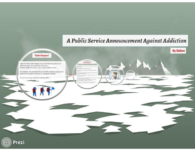 A Public Service Annoucement