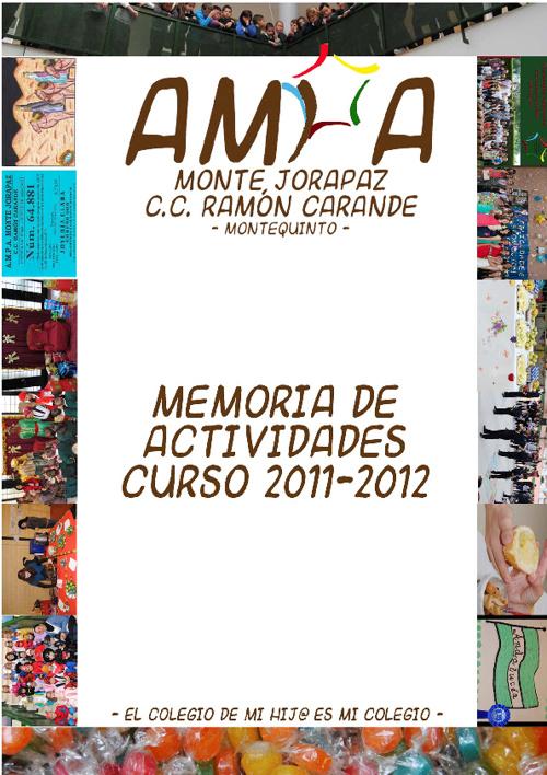 Memoria Actividades 2011-2012