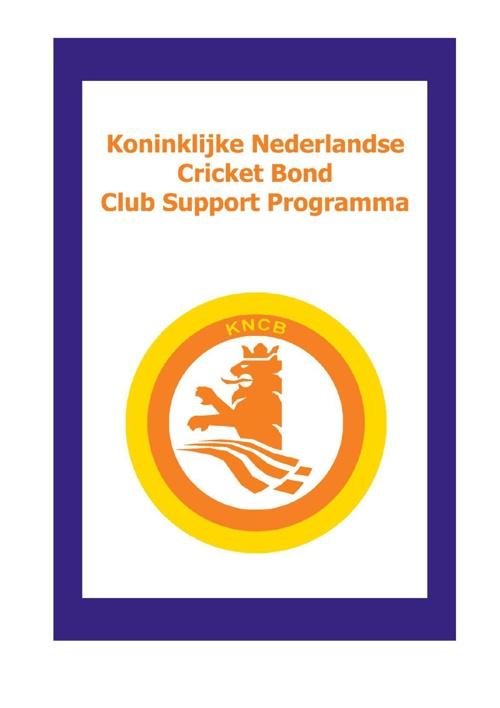 Club Support Programma