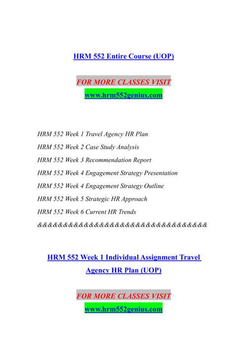 HRM 552 GENIUS Experience Tradition/hrm552genius.com
