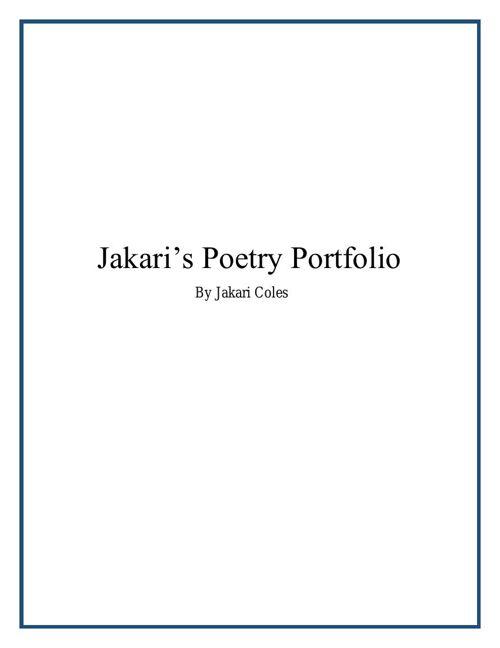 Poetry Portfolio (1)