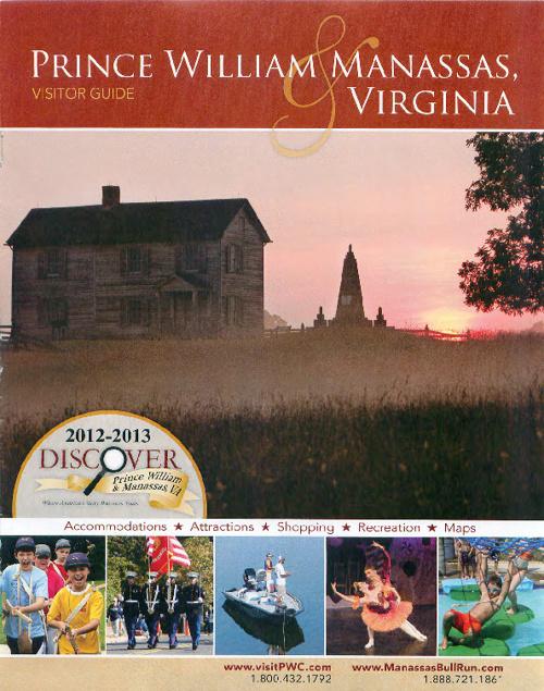 Discover Prince William/Manassas 2012-2013 Visitor's Guide