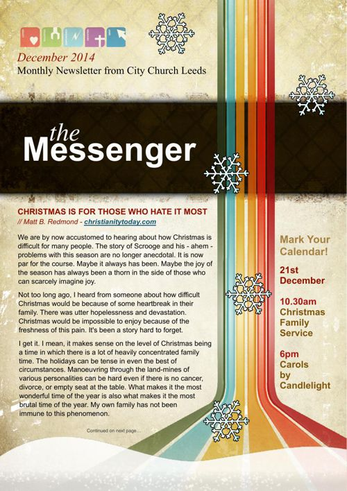 The Messenger - December 2015