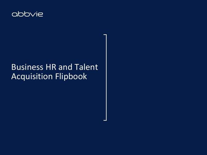HR TA Profiles Flipbook
