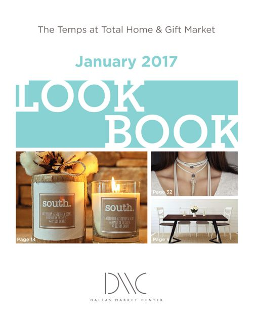 The Temps at Total Home & Gift Market: January 2017 Lookbook