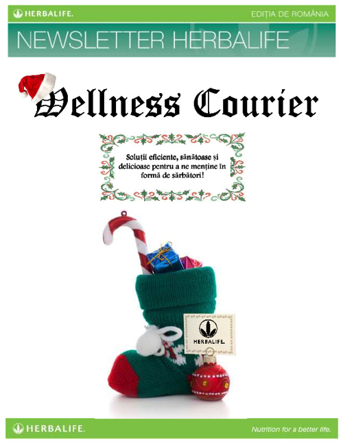 Wellness Courier - Decembrie