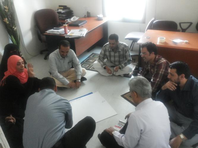 صور دورة تدريب مدربين في مجال المشاركة المجتمعية