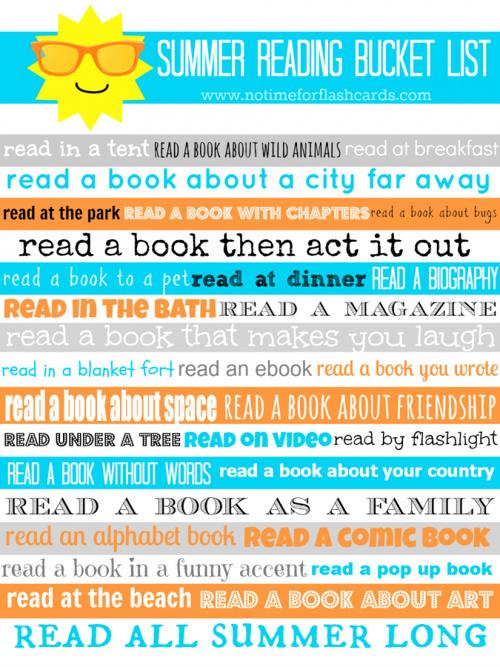 Summer Reading Lit 2013