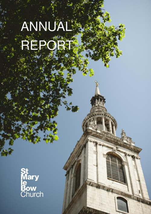 St Mary-le-Bow Annual Report 2012