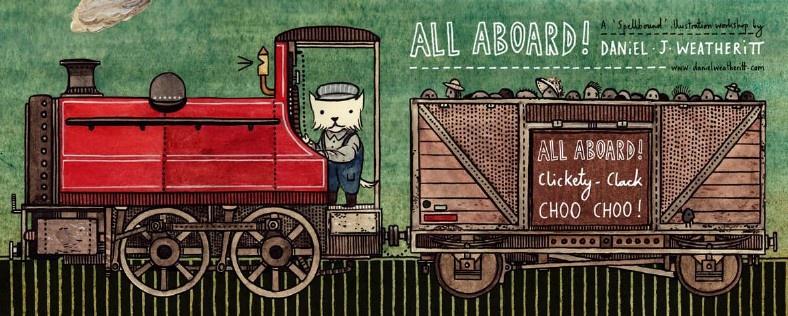 All Aboard! Clickety-Clack Clickety-Clack, Choo Choo!!