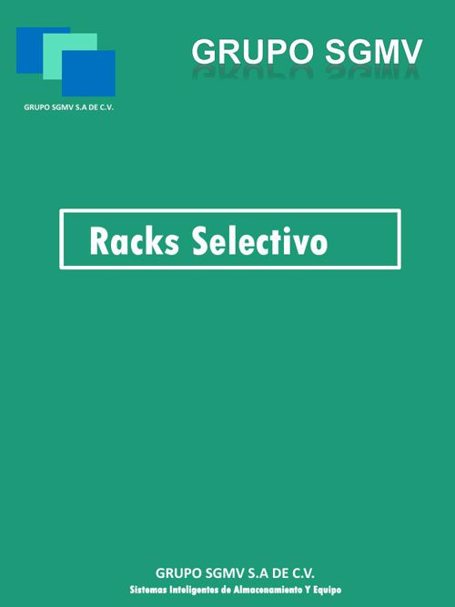 catalogo Racks Selectivo 2016
