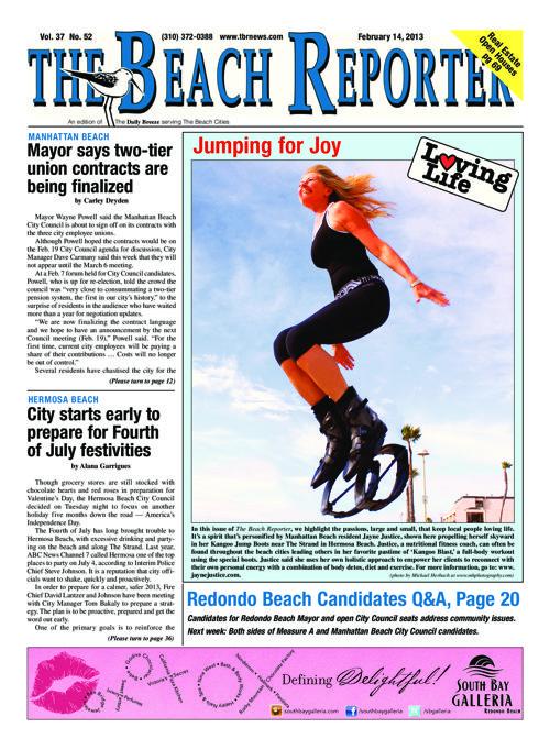 The Beach Reporter | 2-14-13