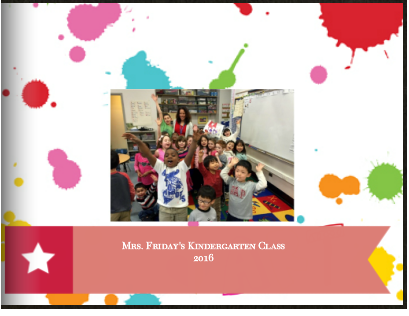 Mrs. Friday's Kindergarten Class Book Part 1