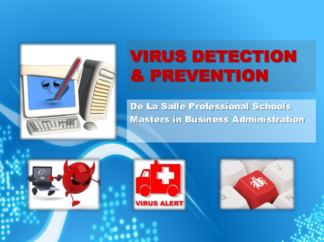 VIRUS DETECTION & PREVENTION - Modee Sumayo