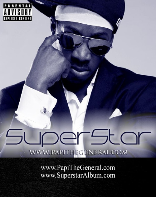 Papi The General - Superstar - Album Art