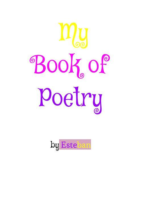 EstebansPoetryBook