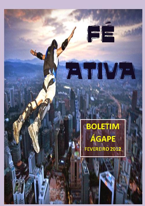 BOLETIM ÁGAPE FEVEREIRO 2012