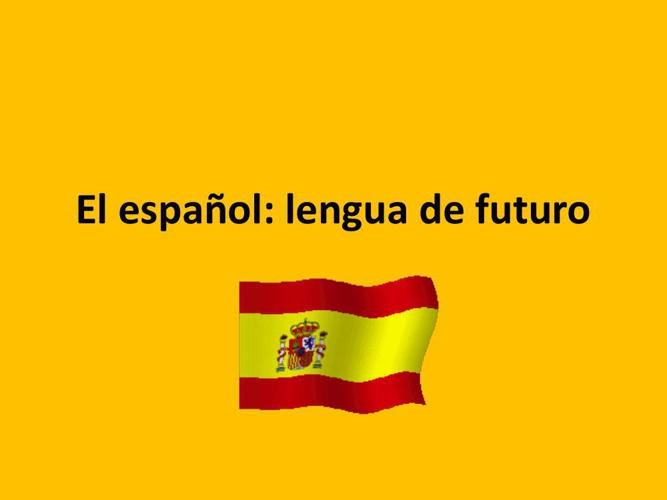 présentation espagnol