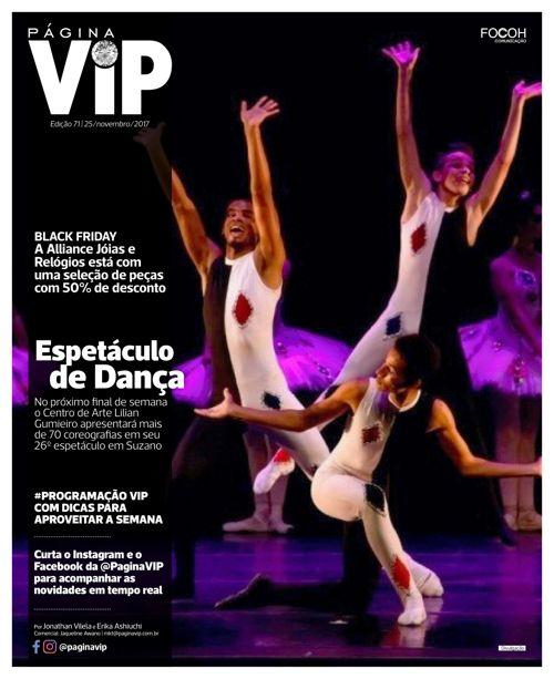 Leia ONLINE o caderno Página VIP de 25/11/2017