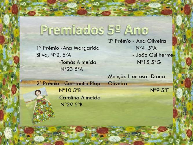 """New Flip 1Vencedores do Concurso """"Palavras de Primavera"""""""
