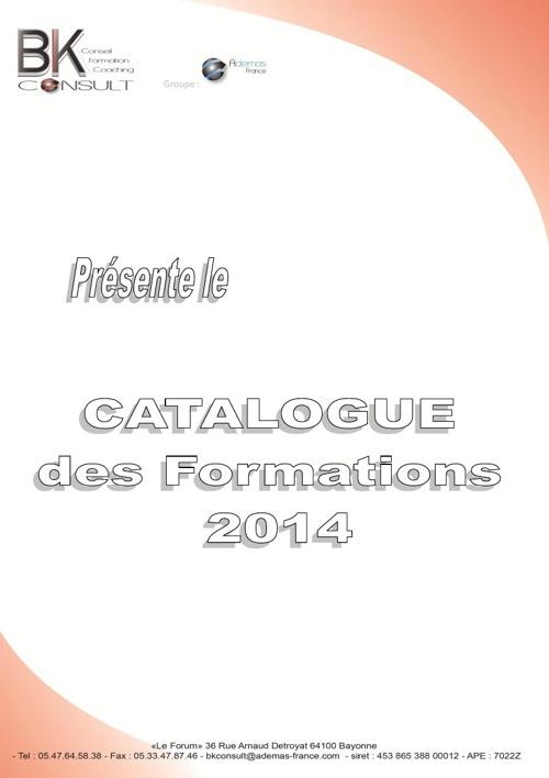 Catalogue 2014 bkconsult