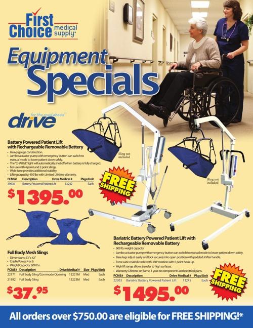 FCMS Equipment Specials