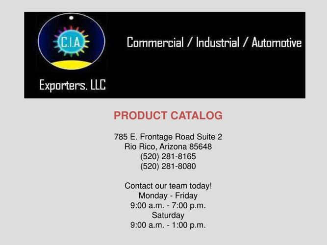 Product Catalog 1