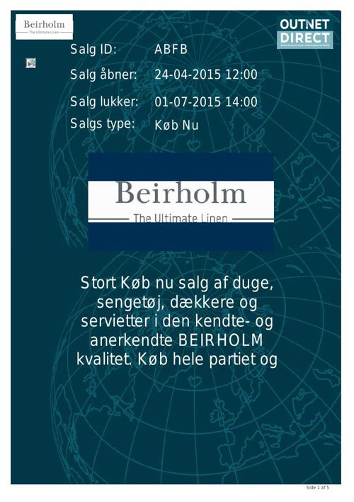 BEIRHOLM ABFB