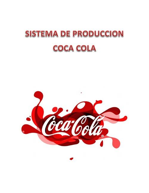 Proceso de Fabricación Coca Cola