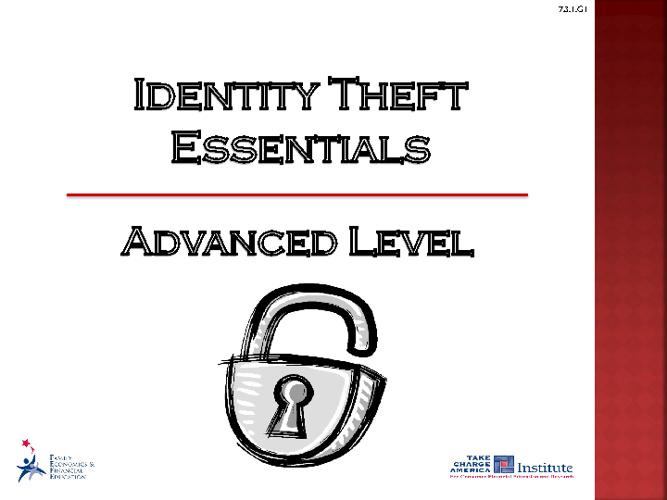Identity Theft Essentials