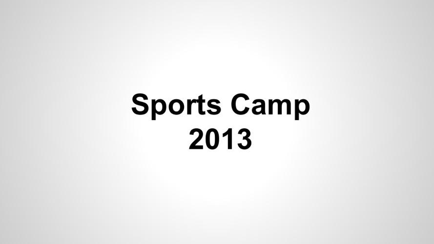 Sports Camp E-book