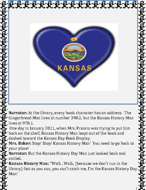 The Kansas History Day Man: A Very Fractured Version