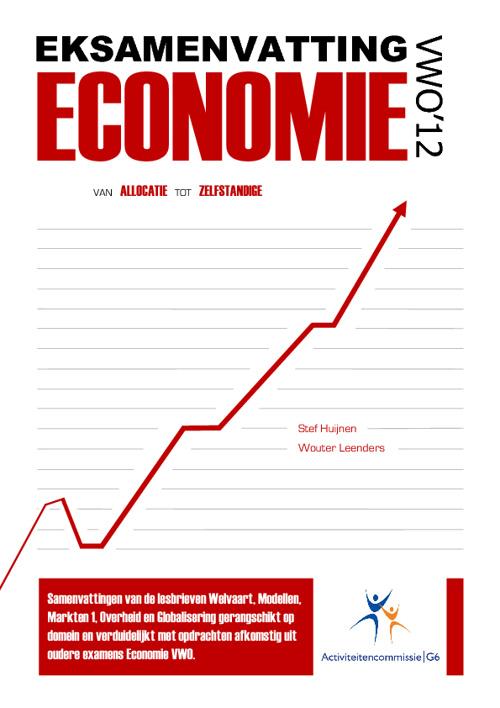 ACG EKSamenvatting Economie VWO 2012 V2