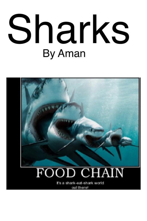 Aman's NonFiction Expository Writing about Sharks