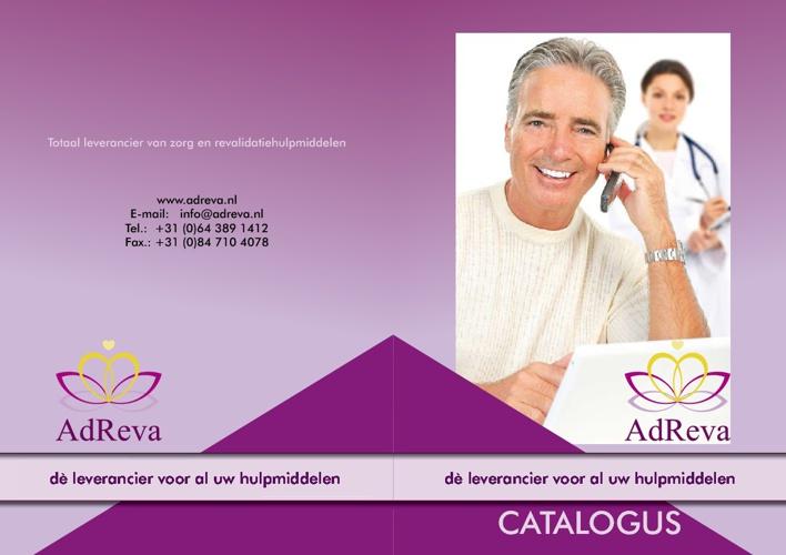 Brochure AdReva, de leverancier voor al uw zorghulpmiddelen