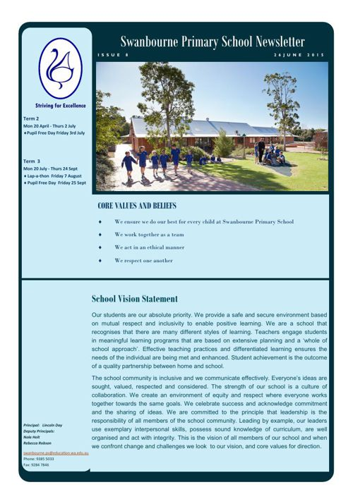 Newsletter Term 2            26.06.15