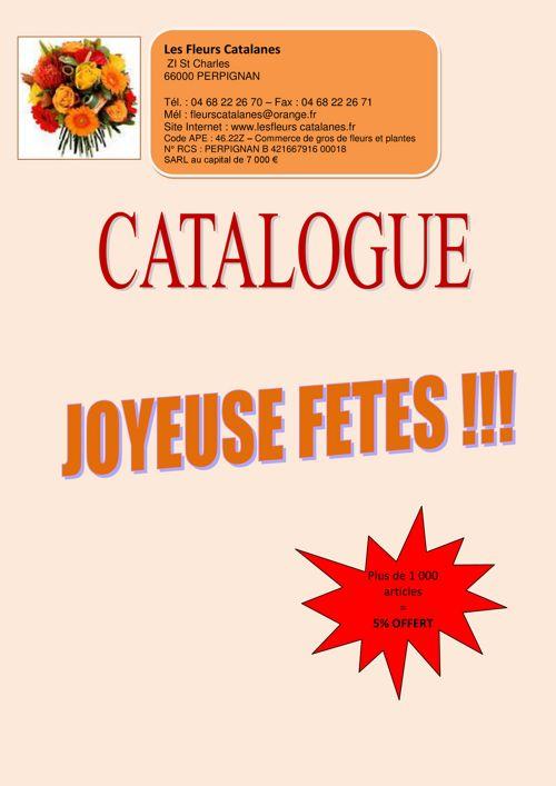 Catalogue des fleurs Catalane spécial fêtes