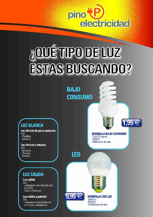 Folleto Pino Electricidad