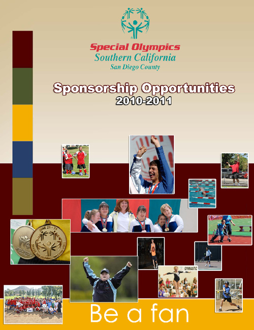 Special Olympics San Diego - Fundraising Material