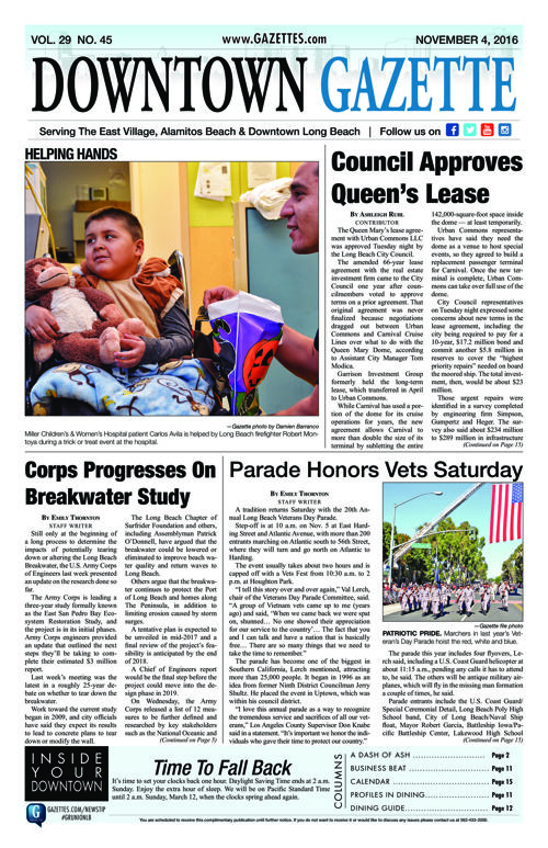 Downtown Gazette  |  November 4, 2016