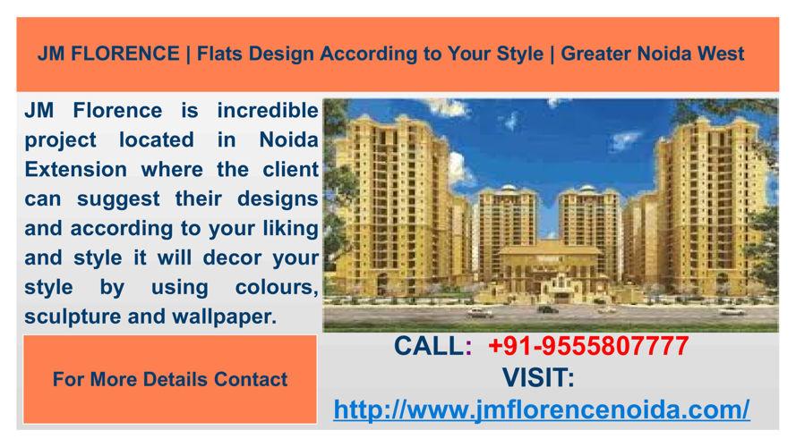 JM Florence residential society provides standard of living