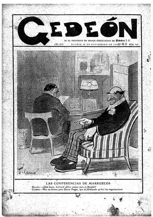 Gedeón novembre 1910