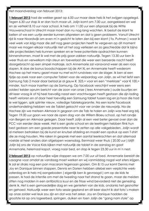 New FlipVerslag van de maand februari 2013