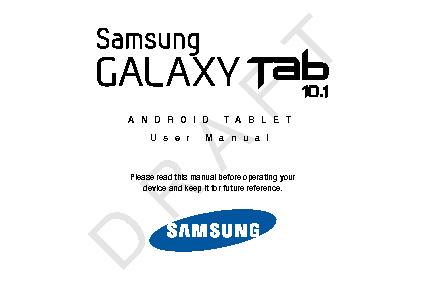 Samsung GT-P7510 Galaxy Tab 10.1
