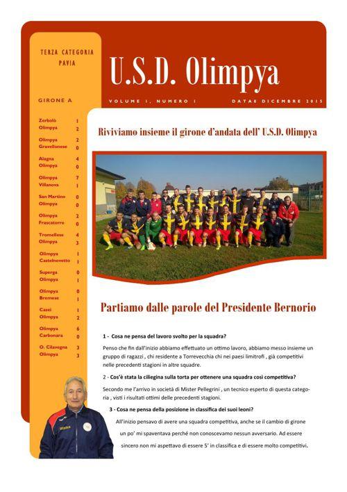 U.S.D. OLIMPYA - TERZA CATEGORIA