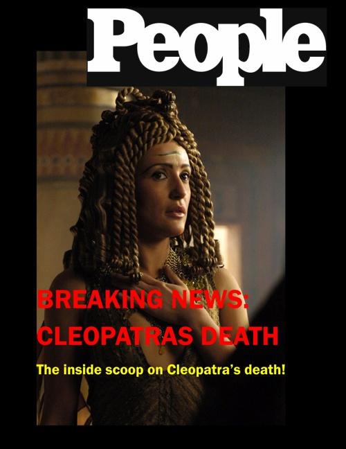Cleopatra- Scrivener, Chloe