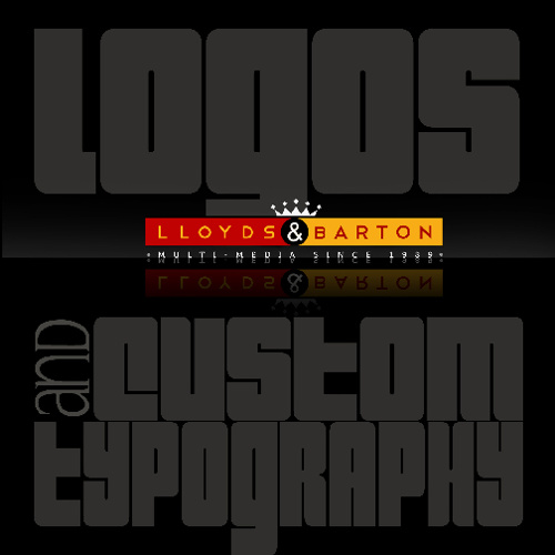 Lloyds&Barton Logos & Custom Typography