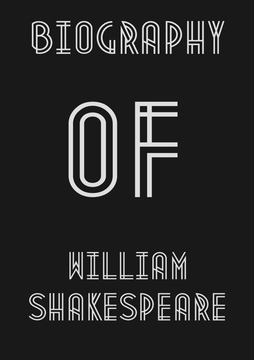 Shakespeare biograpgy
