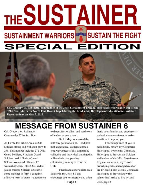 News Letter North Fort Hood
