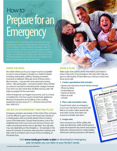How to Prep for emergency